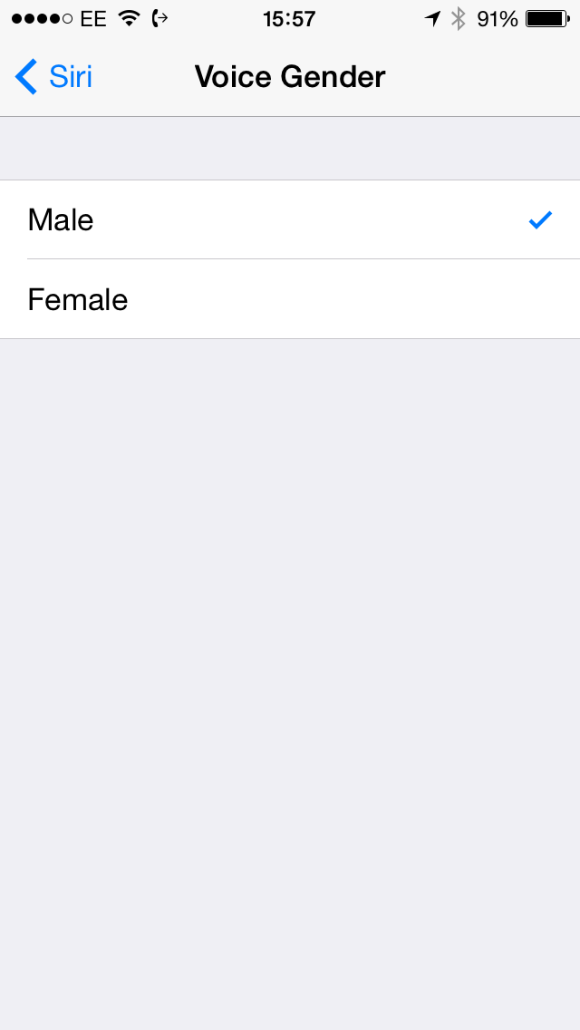 iOS 7.1 Beta 3 (Siri language settings, UK 002)