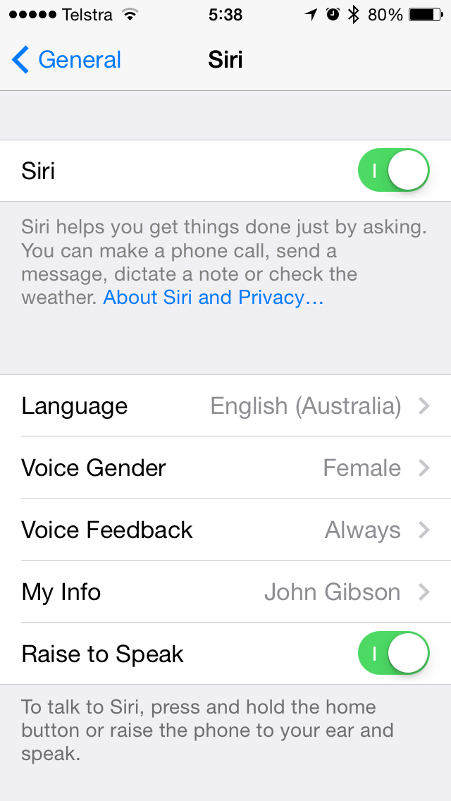 iOS 7.1 Beta 4 (Siri gender, Australia 001)