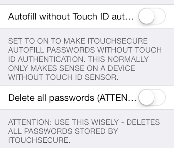 iTouchSecure preferences 02