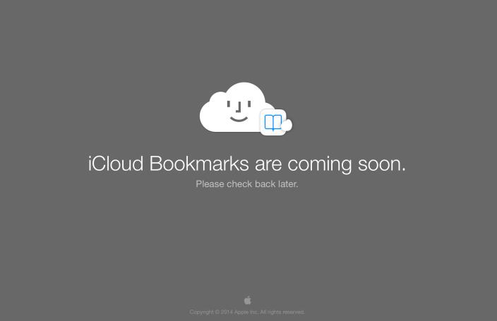 icloud bookmark