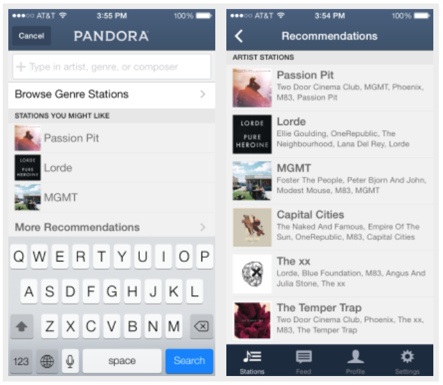 Pandora App Updated With Sleep Timer For Ipad Push Notifications And More