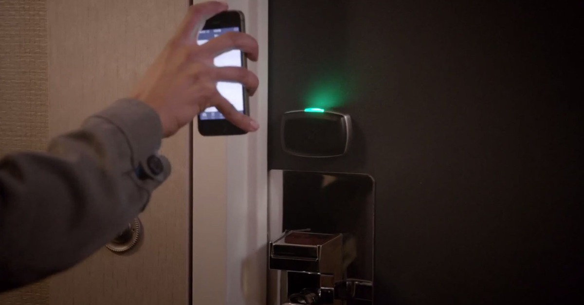 Your Iphone Becomes Virtual Room Key In Select Starwood