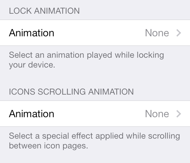 Animations Springtomize 3