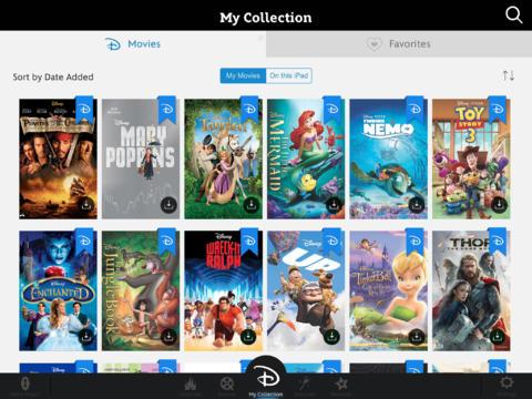 Disney Movies Anywhere 1.0 for iOS (iPad screenshot 002)