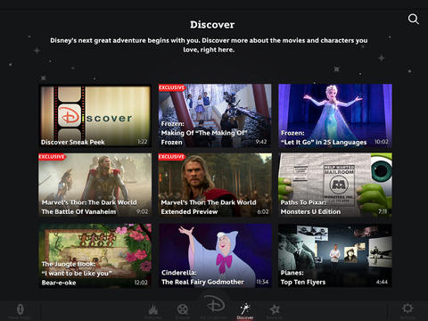 Disney Movies Anywhere 1.0 for iOS (iPad screenshot 003)