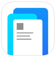 Facebook Paper 1.0 for iOS (app icon, small)