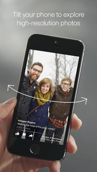 Facebook Paper 1.0 for iOS (iPhone screenshot 003)