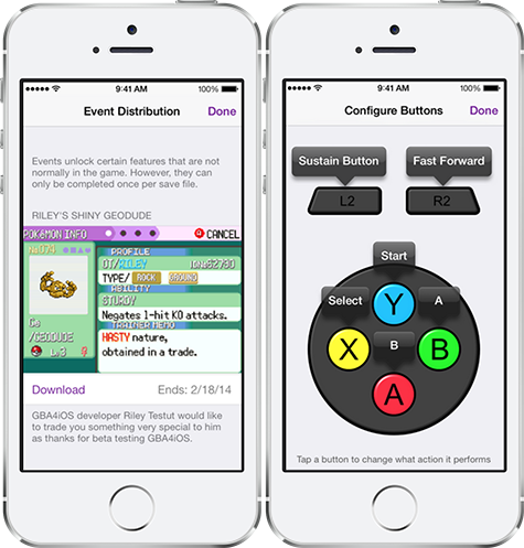Emulator GBA4iOS 2 0 is out with support for iPad, iOS 7 controllers