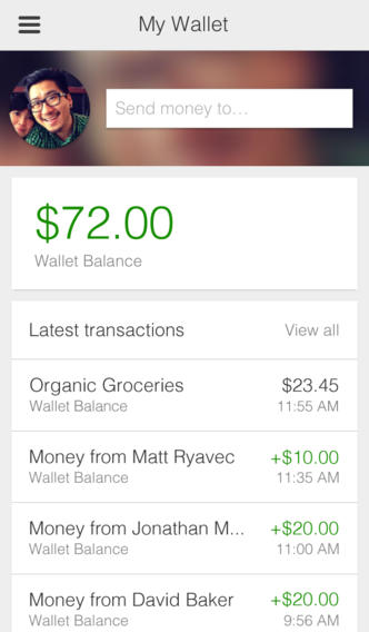 Google Wallet 2.0.13611 for iOS (iPhone screenshot 001)