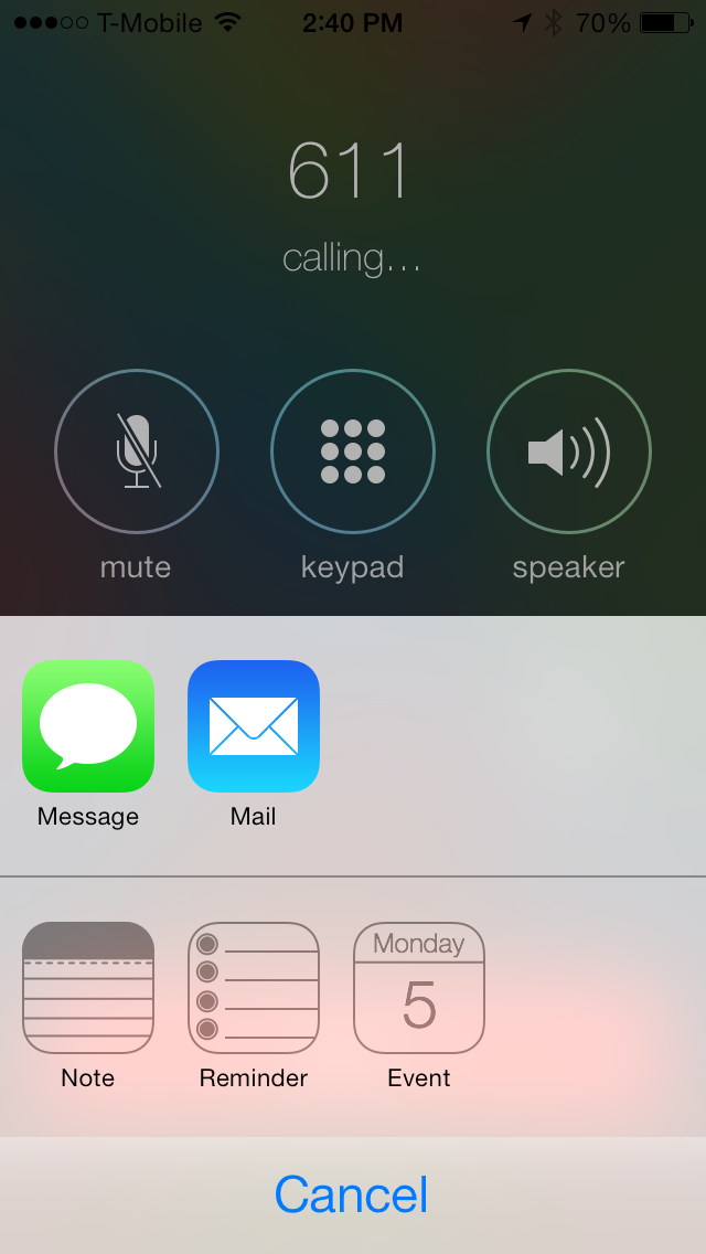 CallShare: create notes, calendar events and more during phone calls
