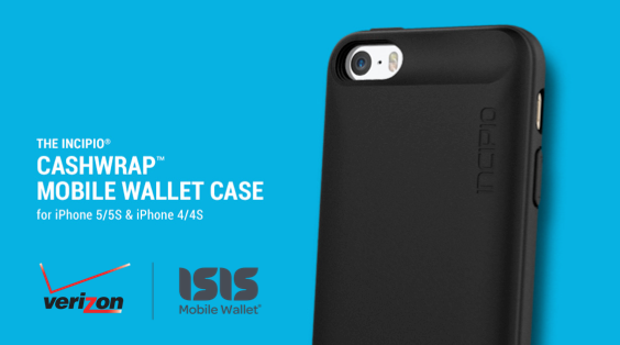 new concept d75fb 3dd65 Incipio's Cashwrap NFC iPhone case now available to Verizon customers