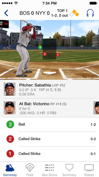 MLB.com At Bat 7.0 for iOS (iPhone screenshot 002)