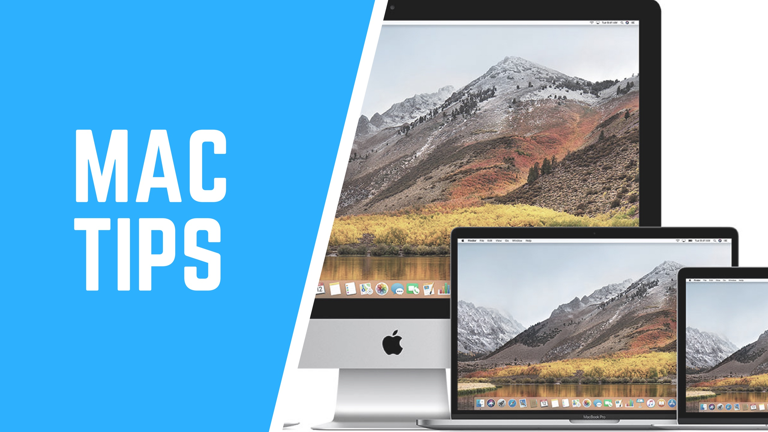 Mac Tips banners