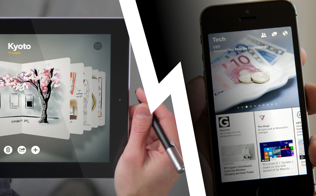 Paper (Facebook vs FiftyThree)