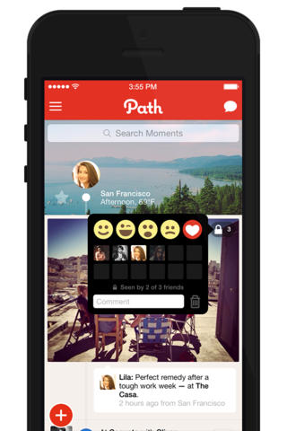 Path 3.4 for iOS (iPhone screenshot 003)