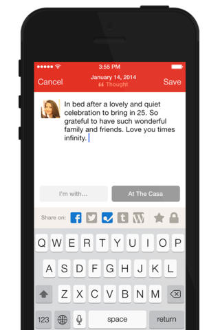 Path 3.4 for iOS (iPhone screenshot 004)