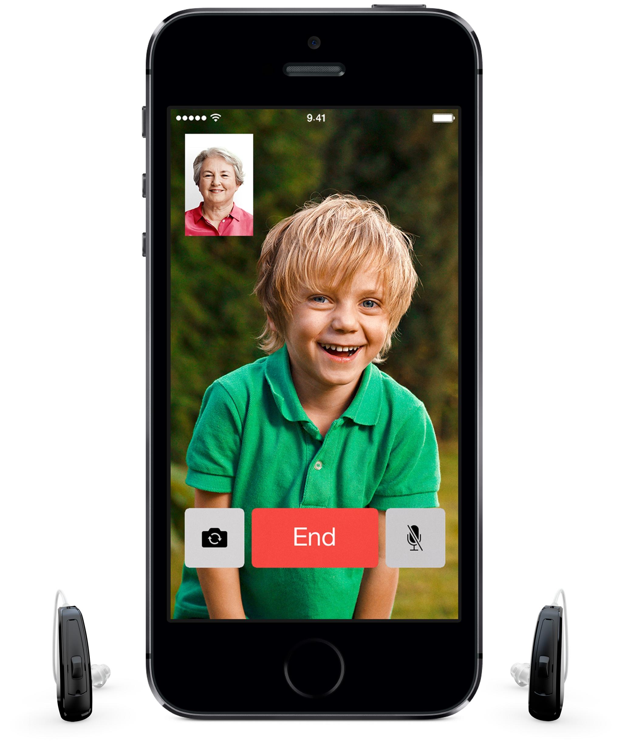 ReSound LiNXLNHearing AidsiPhone