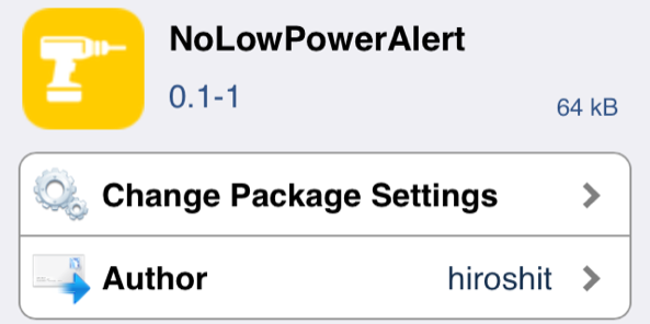 Resized NoLowPowerAlert Featured