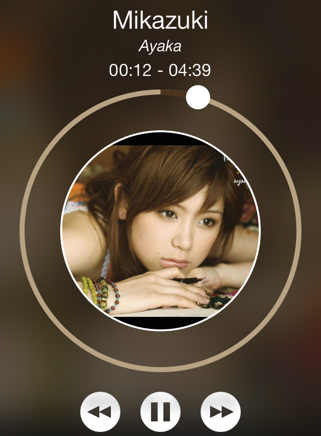 Spin: add a twist to your Lock screen's music interface