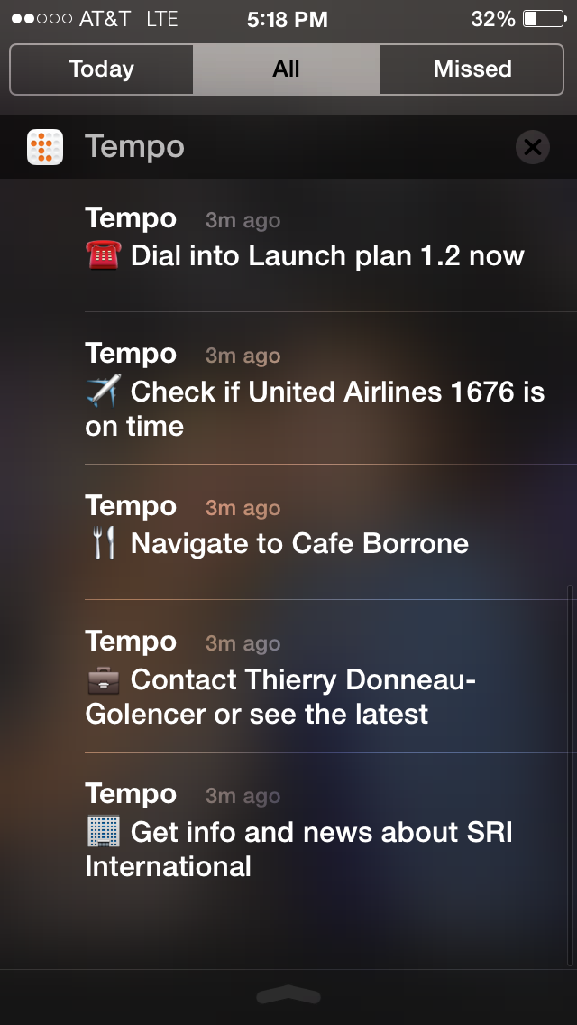 Tempo1.2 for iOS (iPhone screenshot 001)