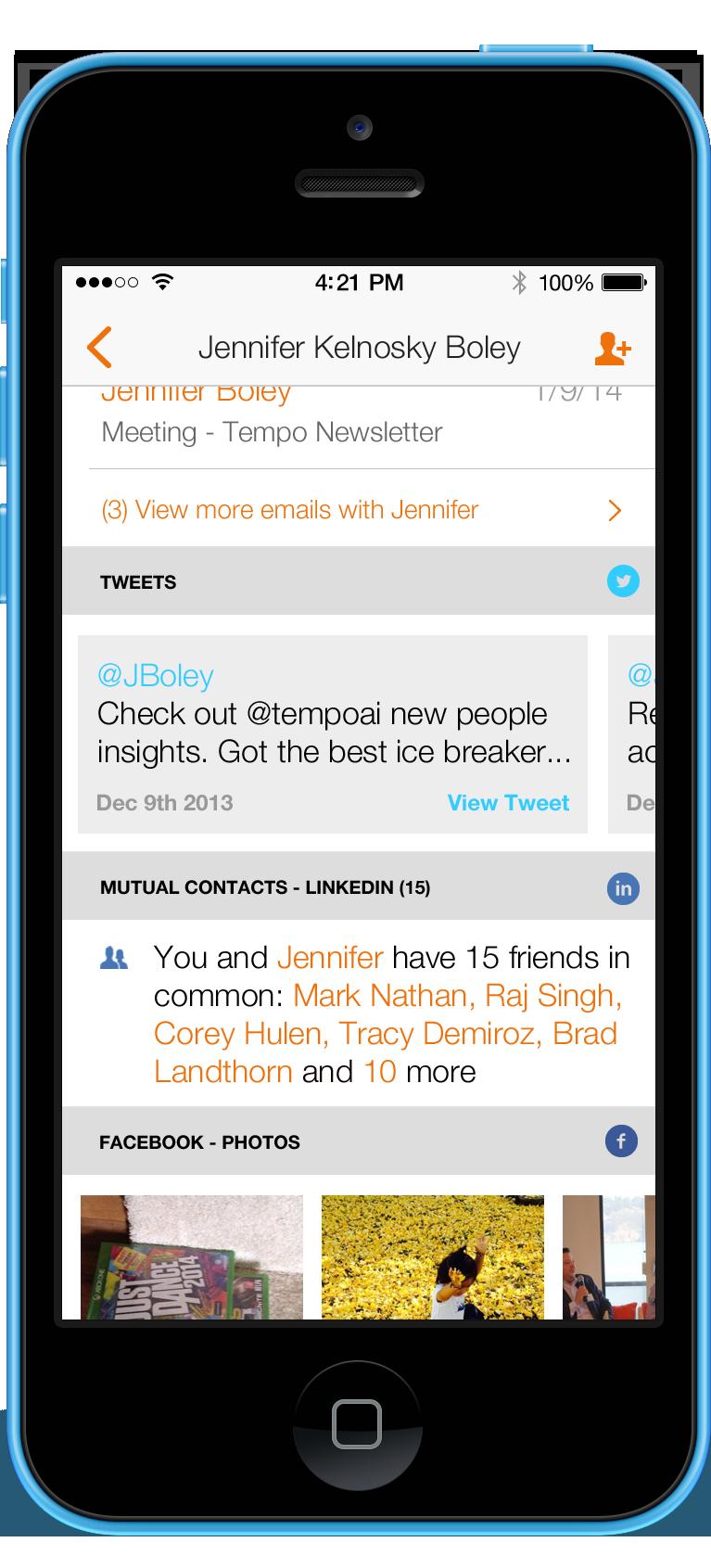 Tempo 1.2 for iOS (iPhone screenshot 003)
