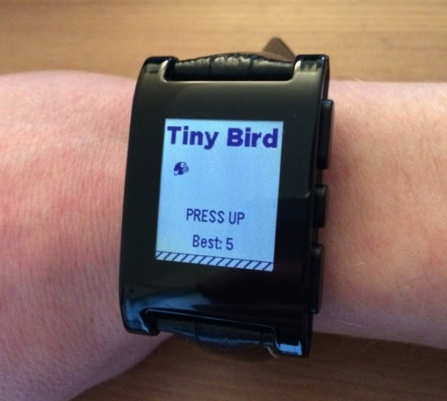 Tiny Bird for the Pebble