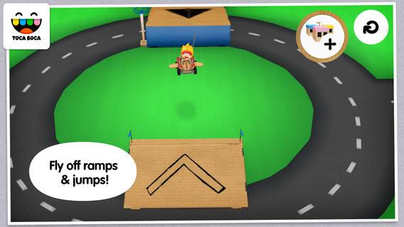 Toca Cars 1.0 for iOS (iPhone screenshot 002)