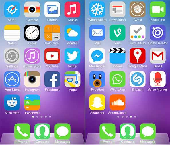 UltraFlat iOS 7