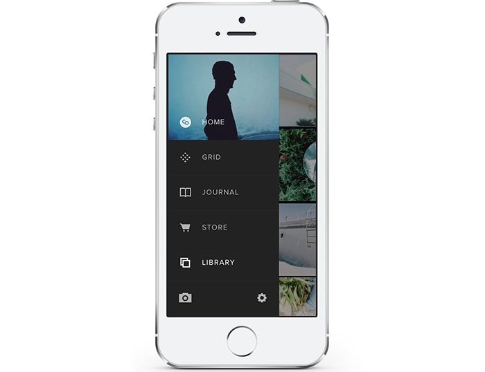 VSCO Cam 3.0 for iOS (Side menu).jpg