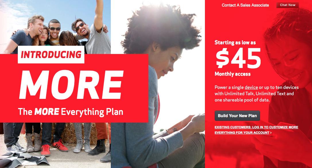 Verizon MORE Everything plan (teaser 001)
