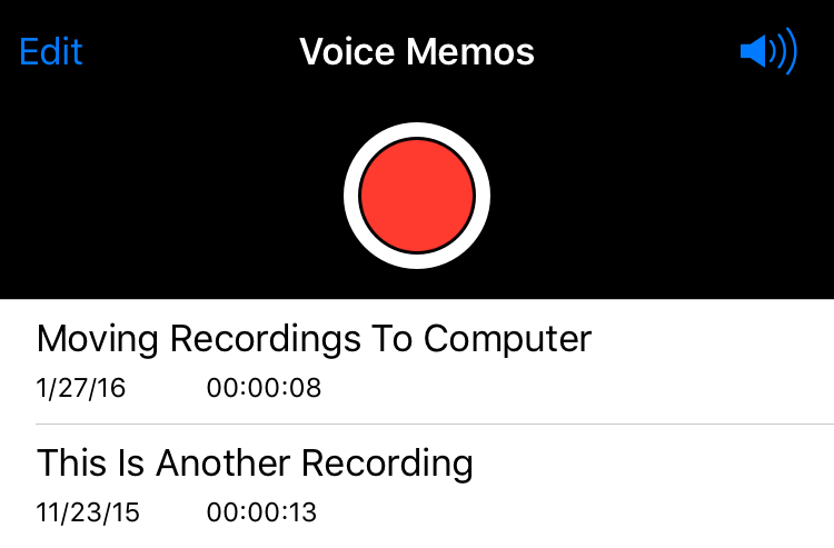 How long can i record a voice memo on my iphone 8