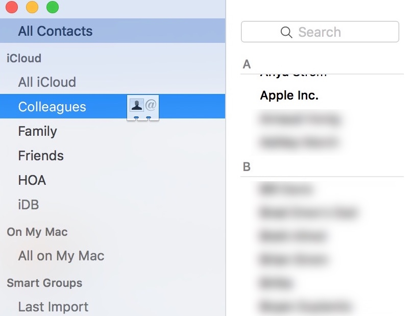 add contact to group