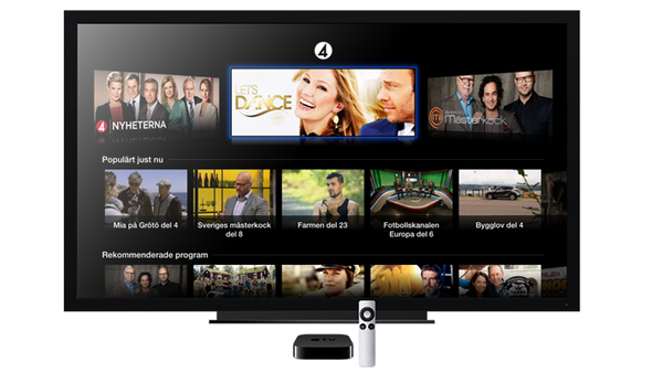 apple tv sweden