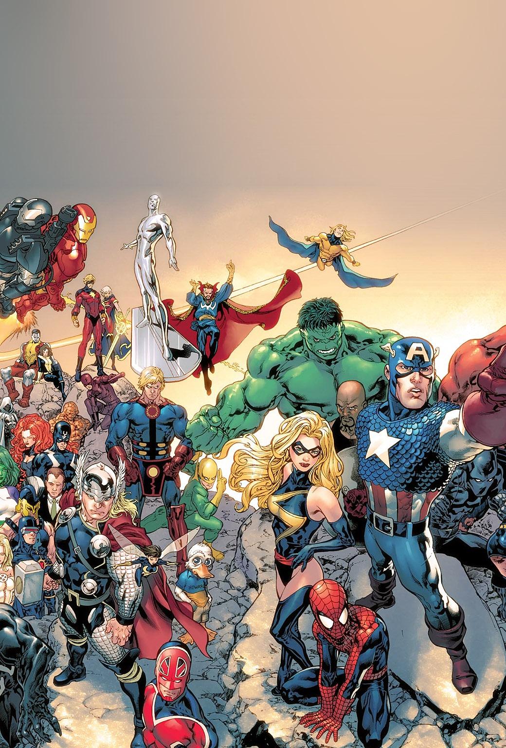 Wallpapers of the week super hero pack ii - All marvel heroes wallpaper ...