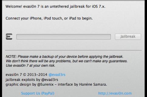 Evad3rs release untethered iOS 7 jailbreak
