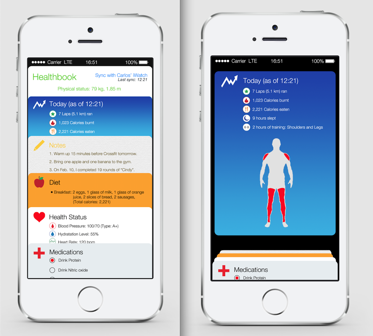healthbook concept