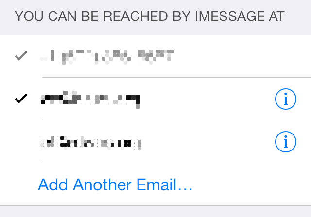 iOS 7 Messages You Can be Reached At