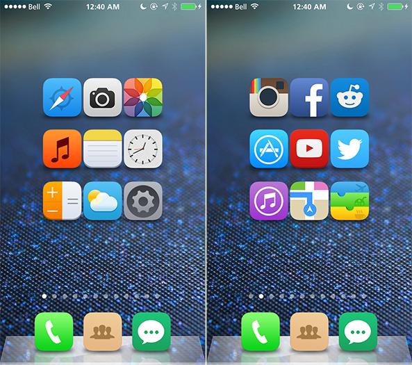 iOS 8 Concept