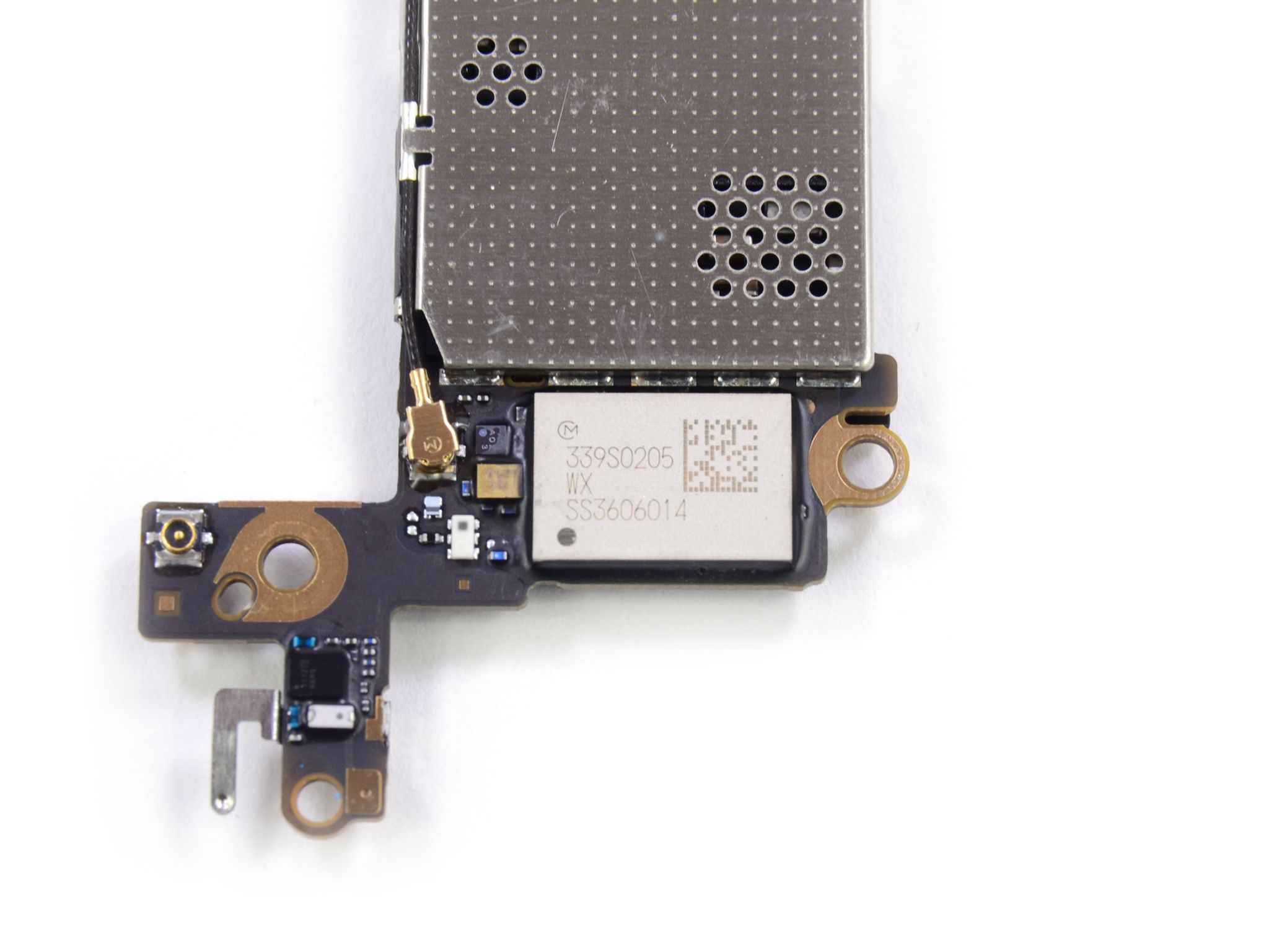 iPhone 5s teardown (iFixit, Murata 339S0205 Wi-Fi module)