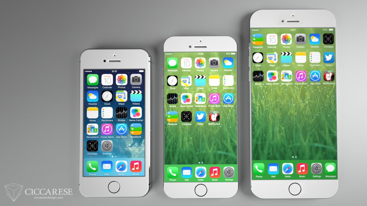 iPhone 6 concept (Federico Ciccarese 001)