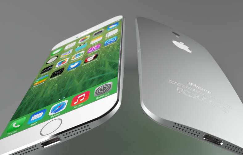 iPhone 6 concept (Federico Ciccarese, teaser 001)