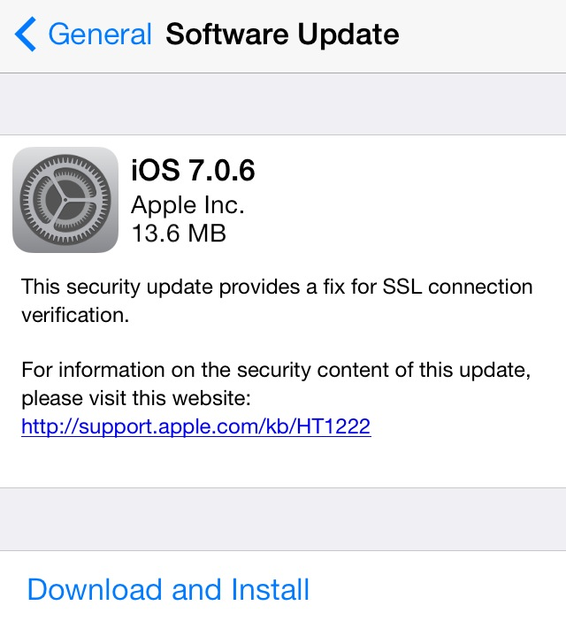 Apple releases iOS 7 0 6, iOS 6 1 6 with various bug fixes