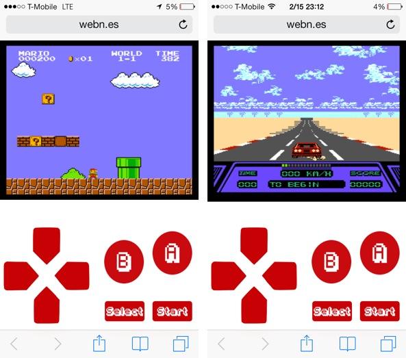 webNES games