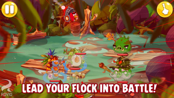 Angry Birds Epic for iOS (iPhone screenshot 004)