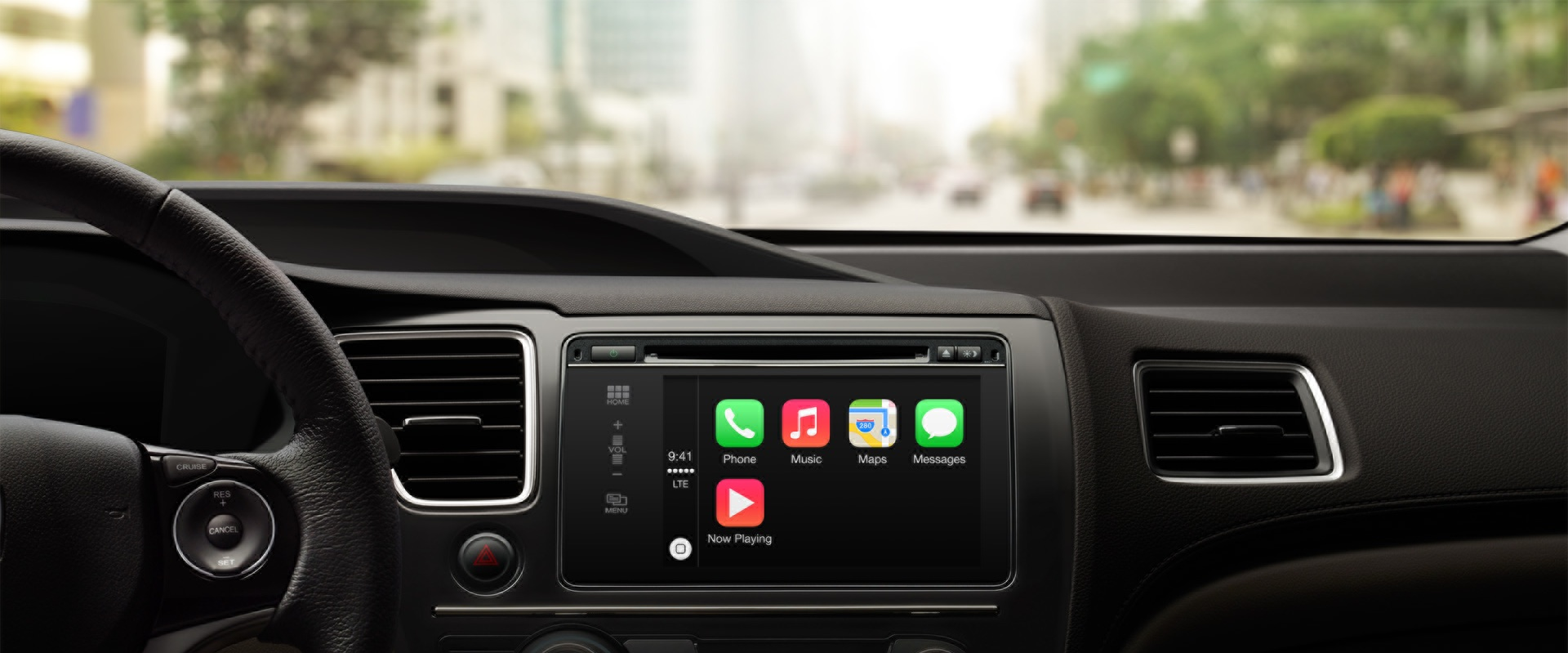Apple CarPlay (Honda, Homescreen 001)