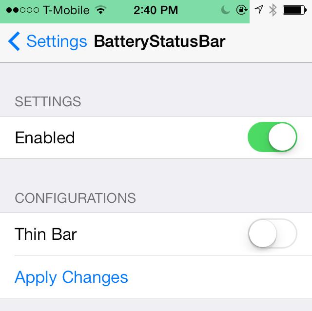 BatteryStatusBar 3
