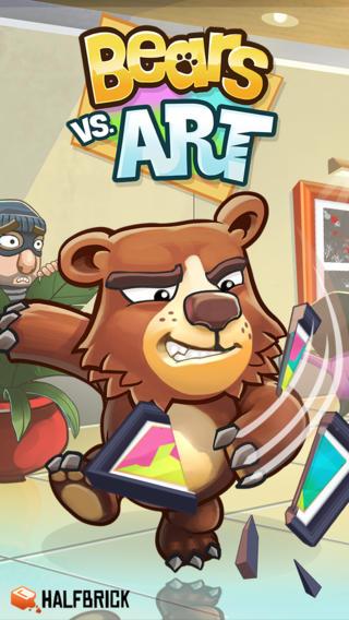 Bears vs Art (iPhone screenshot 004)