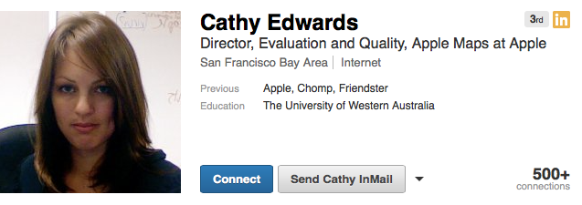 Cathy Edwards (LinkedIn profile 001)
