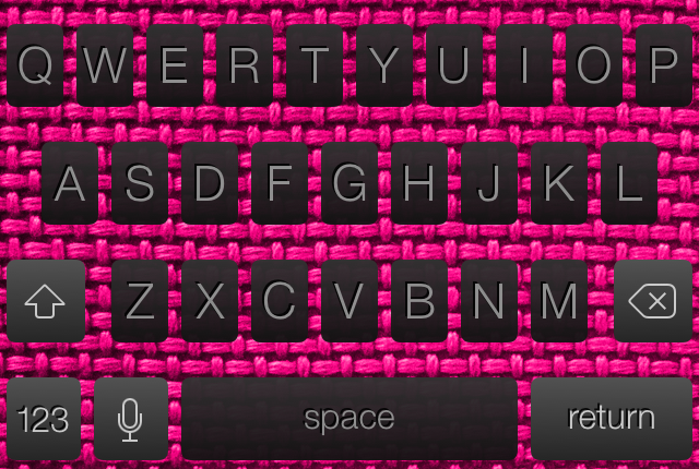 ColorKeyboard IOS 7 2