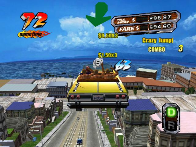 Crazy Taxi 1.3 for iOS (iPad screenshot 001)